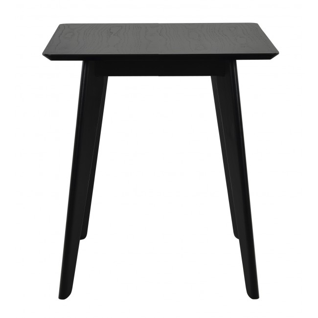 NOFU886 dining table 60x60cm in black ash - Product